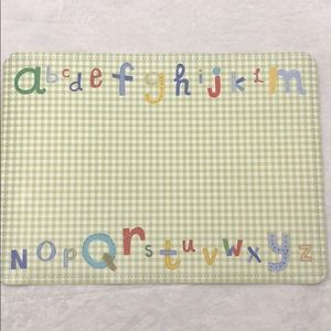 Pottery Barn Kids placemat